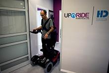 upright wheelchair